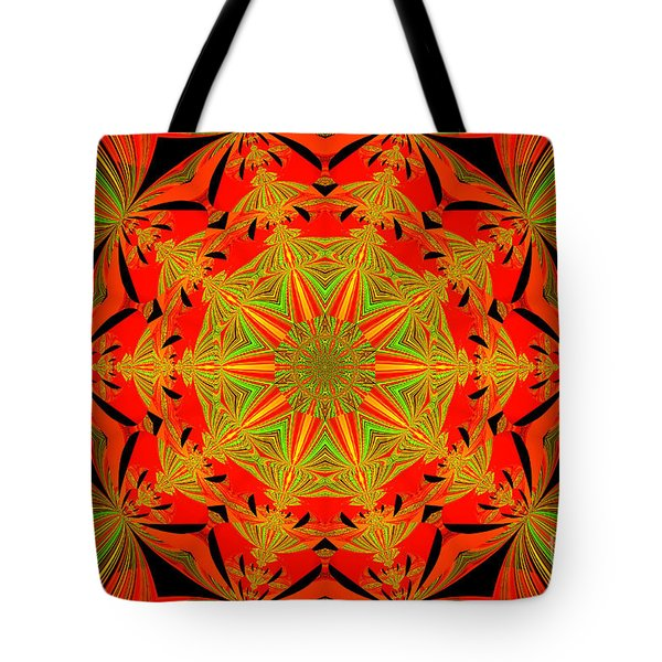 Brighten Your Day.unique And Energetic Art Tote Bag