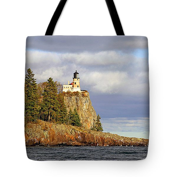 0376 Split Rock Lighthouse Tote Bag