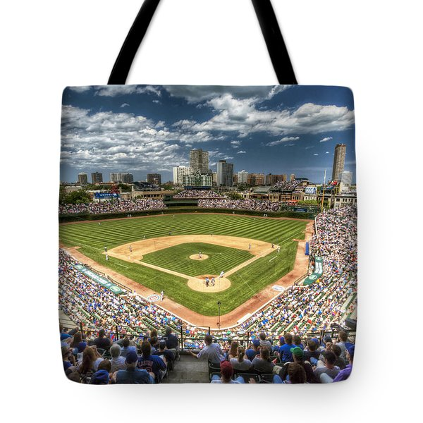 0443 Wrigley Field Chicago  Tote Bag