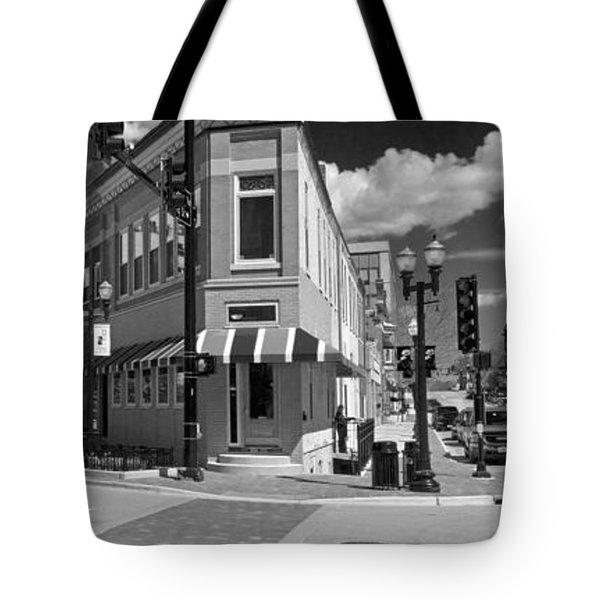 0465 Elgin Illinois Panoramic Tote Bag