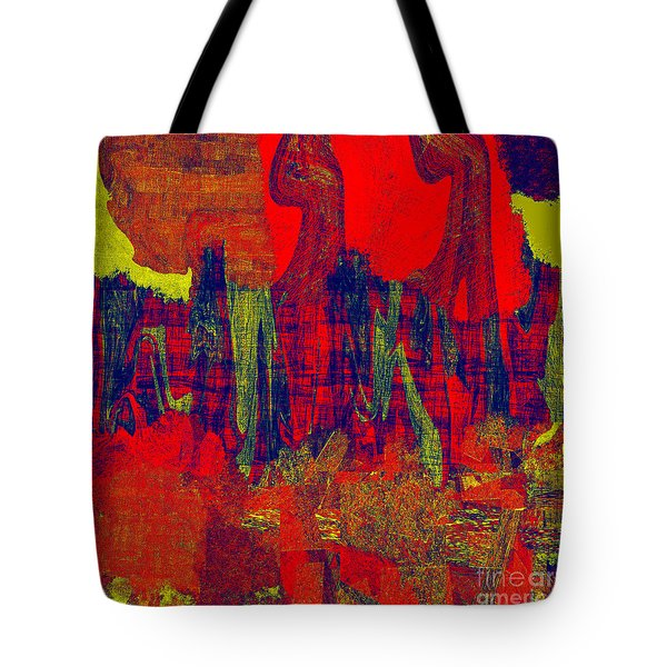 0486 Abstract Thought Tote Bag