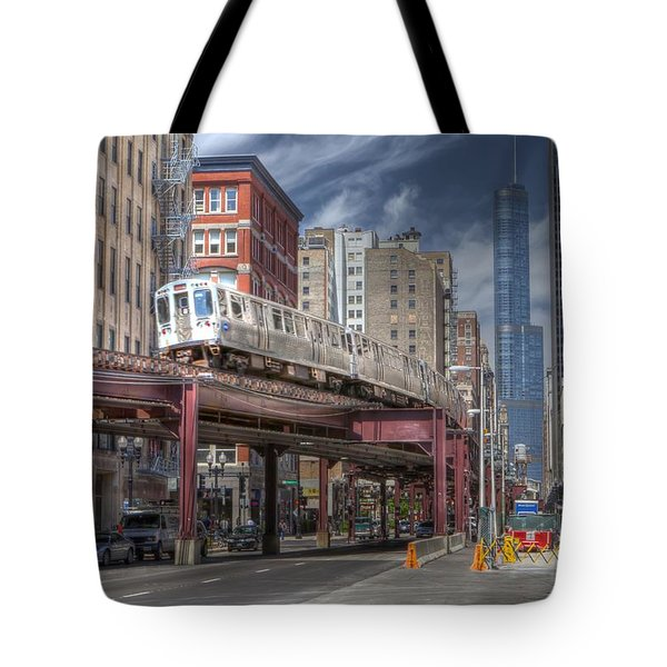 0489 Wabash Avenue Chicago Tote Bag