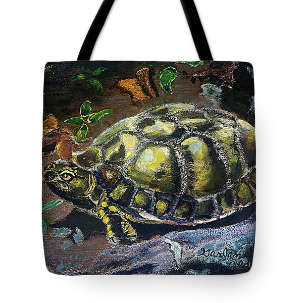 05042004 Box Turtle Tote Bag