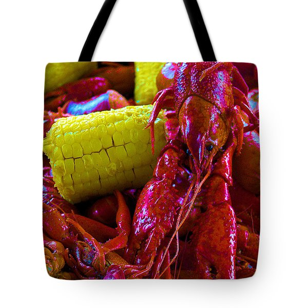 05092010 Boiled Mud Bugs Tote Bag