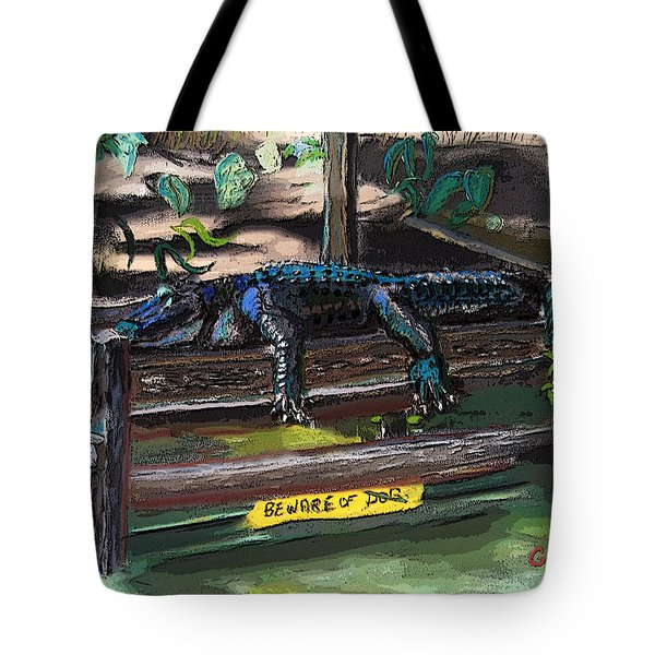 051607 Cajun Watch Dog Tote Bag