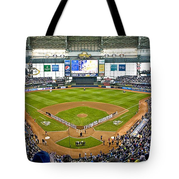 0546 Nlds Miller Park Milwaukee Tote Bag