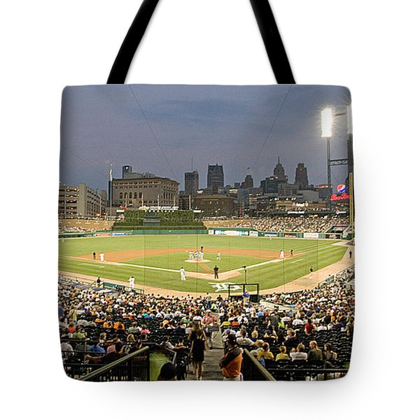 0555 Comerica Park Detroit Tote Bag