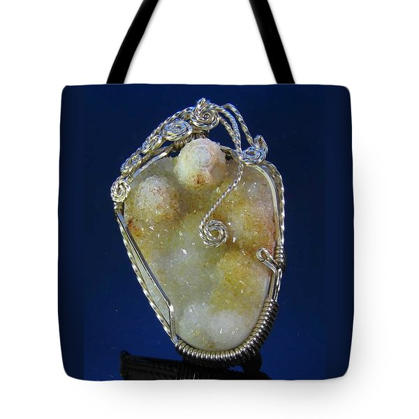 0569 Drusy Fruit Tote Bag