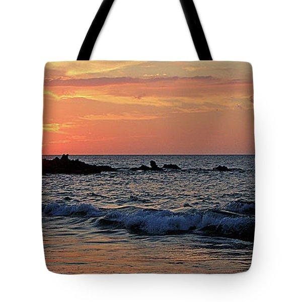 0581 Maui Sunset 2 Tote Bag by Steve Sturgill