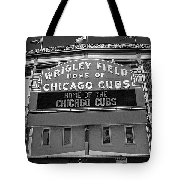 0600 Wrigley Field Tote Bag