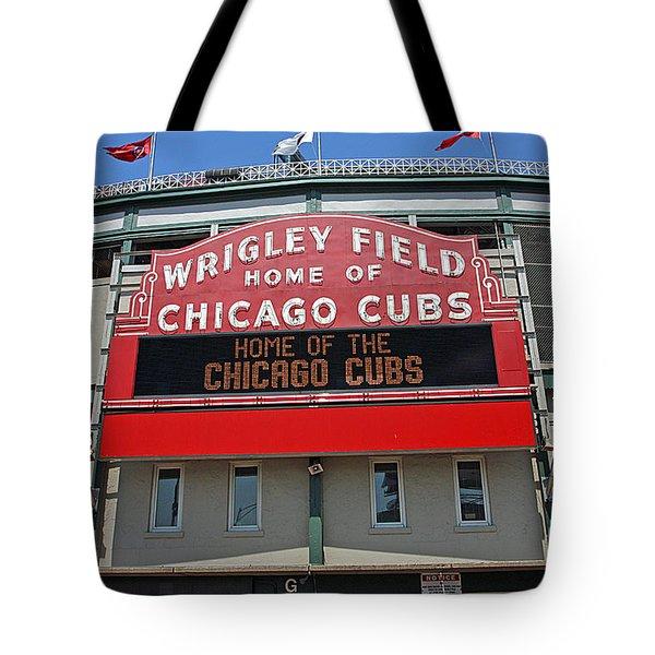 0601 Wrigley Field Tote Bag