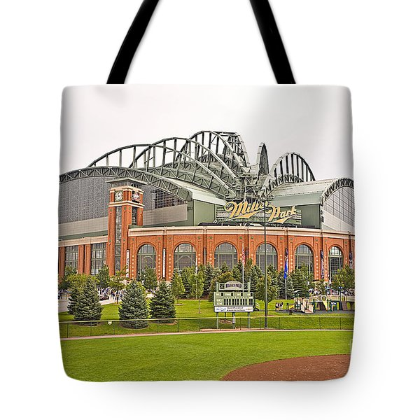 0622 Milwaukee's Miller Park Tote Bag