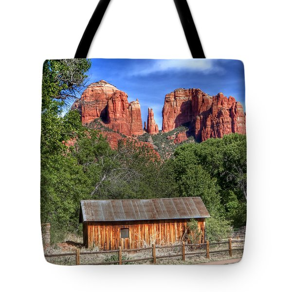 0682 Red Rock Crossing - Sedona Arizona Tote Bag