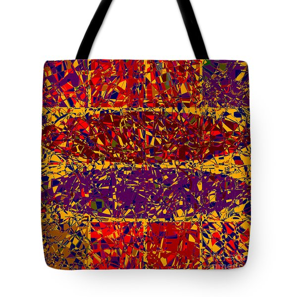 0688 Abstract Thought Tote Bag by Chowdary V Arikatla