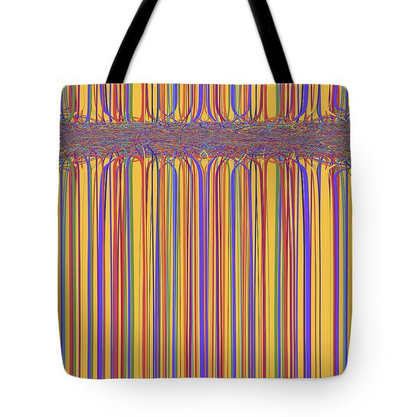 0699 Abstract Thought Tote Bag by Chowdary V Arikatla