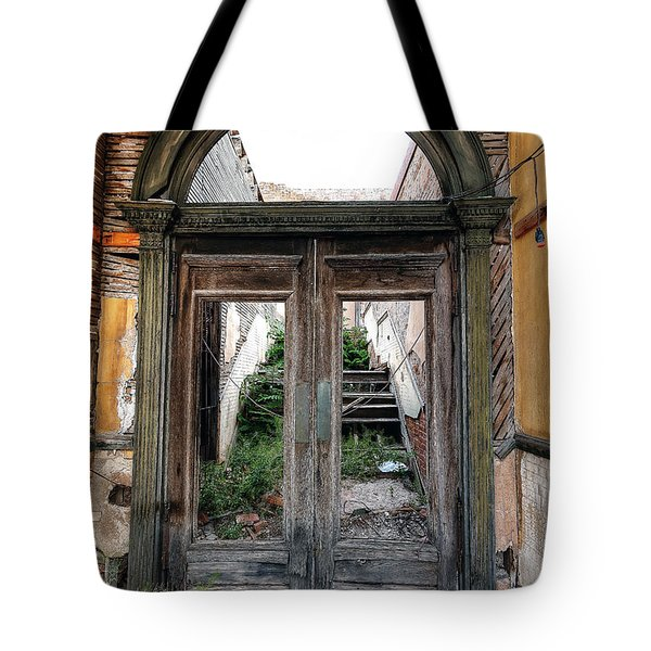 0707 Jerome Ghost Town Tote Bag