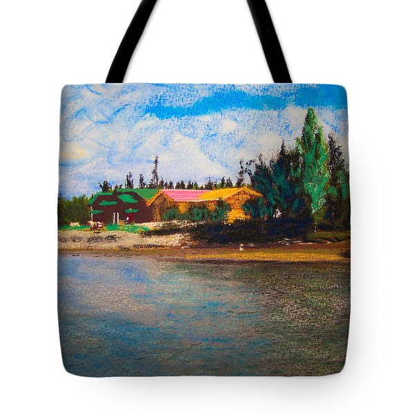 07152008 Chena River Alaska Tote Bag