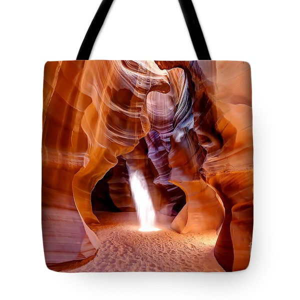 0728 Upper Antelope Canyon - Arizona Tote Bag