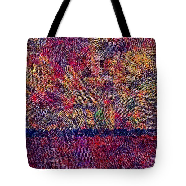 0799 Abstract Thought Tote Bag