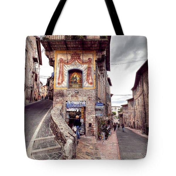 0801 Assisi Italy Tote Bag