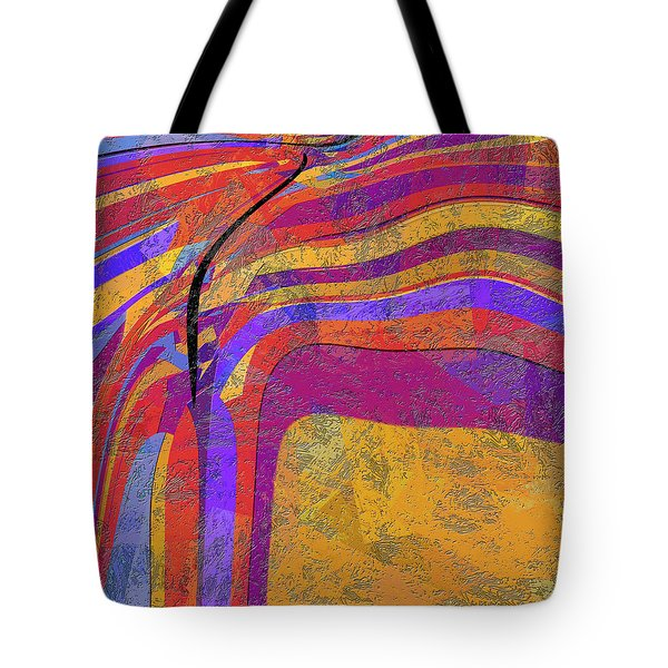 0871 Abstract Thought Tote Bag by Chowdary V Arikatla