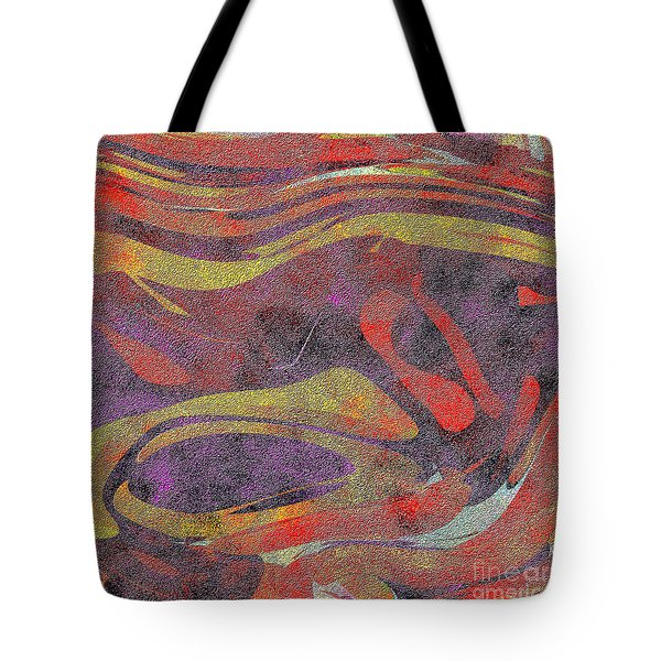 0906 Abstract Thought Tote Bag by Chowdary V Arikatla