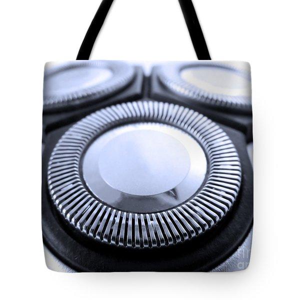 Electric Razor Tote Bag by Jose Elias - Sofia Pereira