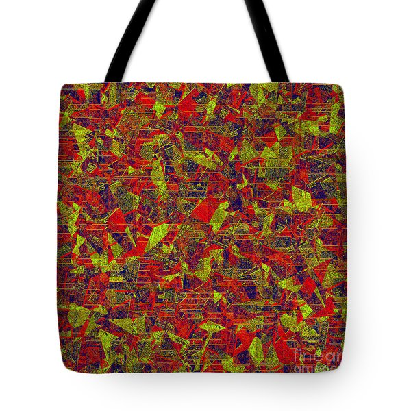 0196 Abstract Thought Tote Bag by Chowdary V Arikatla