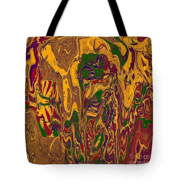 0478 Abstract Thought Tote Bag by Chowdary V Arikatla