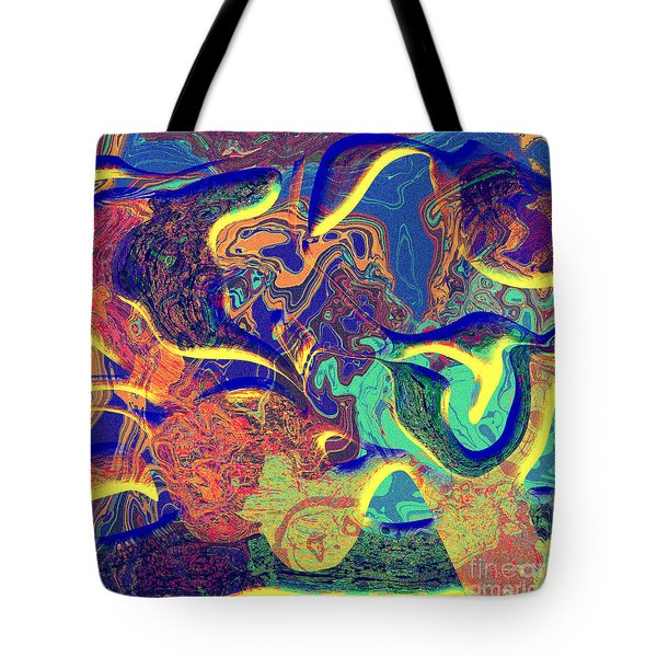 0627 Abstract Thought Tote Bag