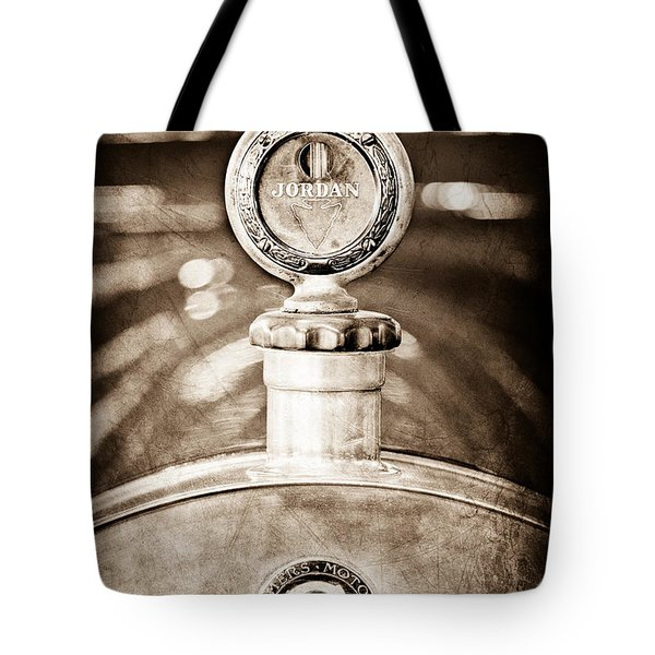 1913 Chalmers Model 18 Jordan Motometer Tote Bag by Jill Reger
