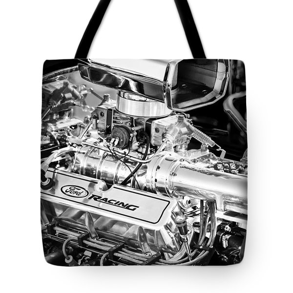 1927 Ford T-bucket Engine Tote Bag