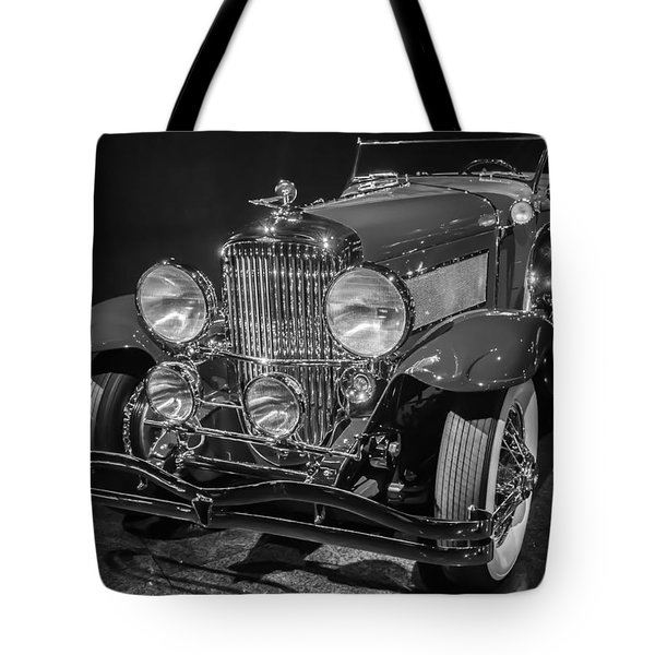 1929 Duesenberg Model J Tote Bag