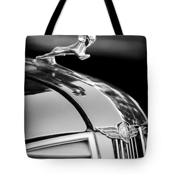 1937 Dodge Hood Ornament - Emblem Tote Bag by Jill Reger