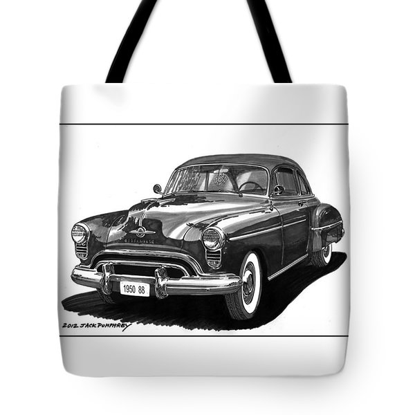 1950 Oldsmobile Rocket 88 Tote Bag