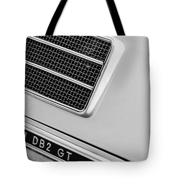 1951 Aston Martin Db2 Coupe Side Emblem Tote Bag
