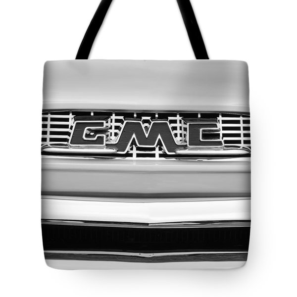 1956 Gmc 100 Deluxe Edition Pickup Truck Tote Bag