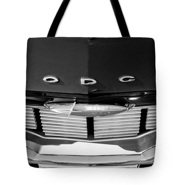1960 Dodge Grille Emblem Tote Bag by Jill Reger