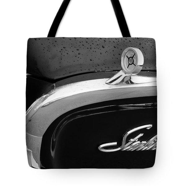 1960 Ford Galaxie Starliner Hood Ornament - Emblem Tote Bag by Jill Reger