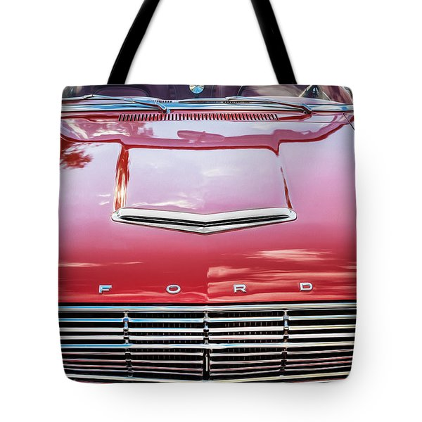 1963 Ford Falcon Sprint Convertible  Tote Bag by Rich Franco