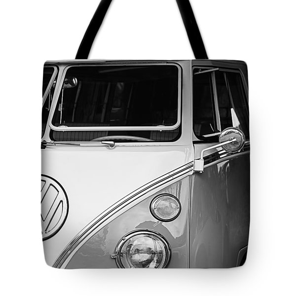 1964 Volkswagen Vw Samba 21 Window Bus Tote Bag