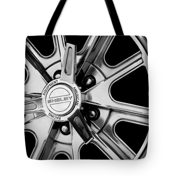 1968 Ford Mustang Fastback 427 Shelby Cobra Wheel Tote Bag