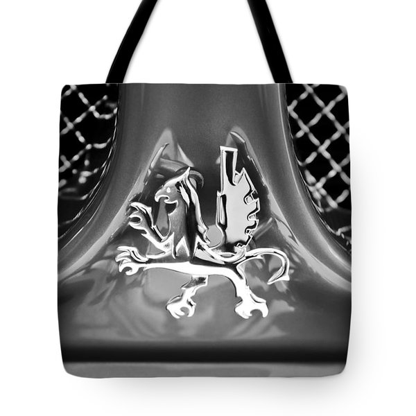 1969 Iso Grifo Grille Emblem Tote Bag by Jill Reger
