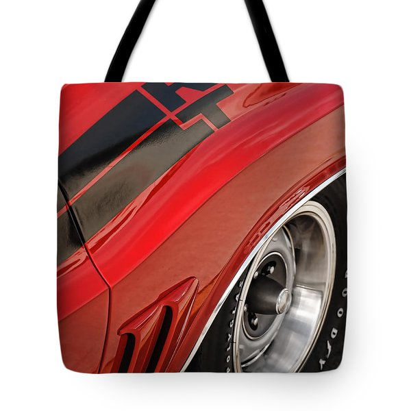 Tote Bag featuring the photograph 1970 Dodge Challenger R/t by Gordon Dean II