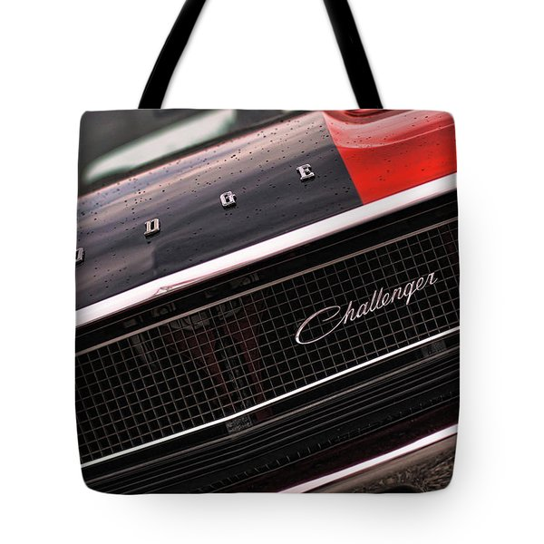 1970 Dodge Challenger Rt Tote Bag by Gordon Dean II