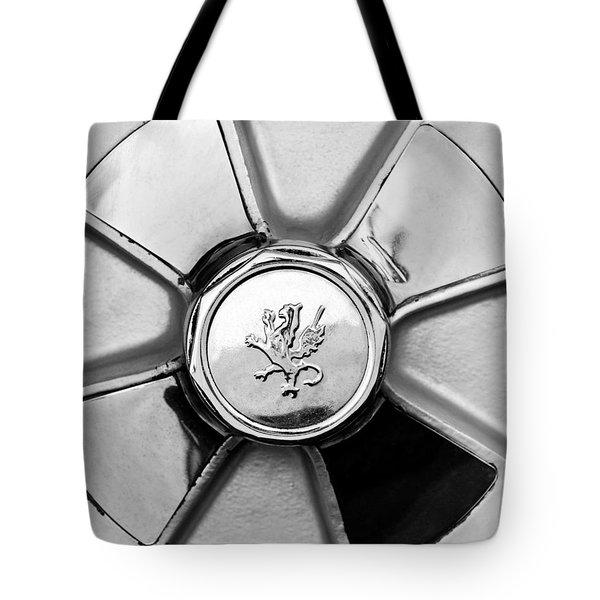 1971 Iso Fidia Wheel Emblem Tote Bag by Jill Reger