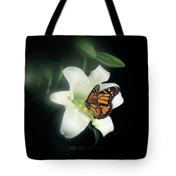 1980s Monarch Butterfly Danaus Tote Bag