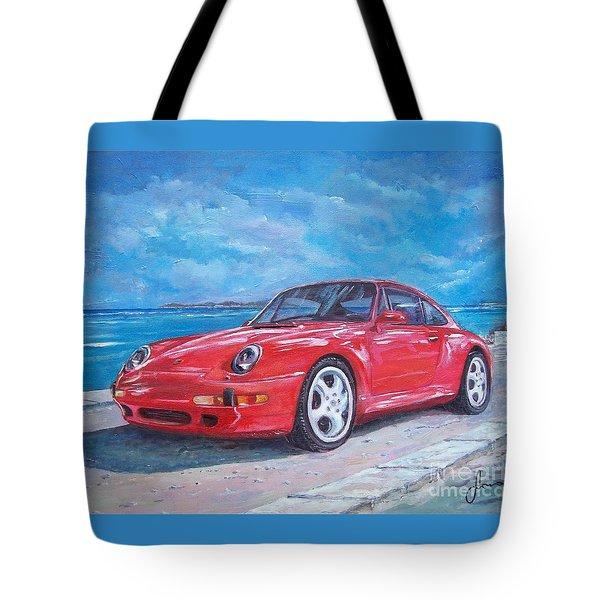 1997 Porsche Carrera S Tote Bag