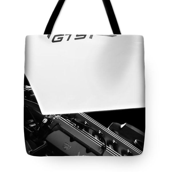 1998 Dodge Viper Gts-r Engine Tote Bag