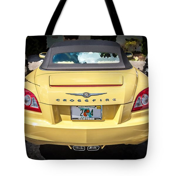 2008 Chrysler Crossfire Convertible  Tote Bag